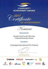 Photo of Colortape International Film Festival