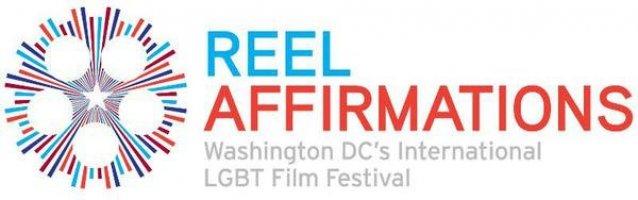 "Logo of Reel Affirmations: Washington DC""s International LGBT Film Festival"