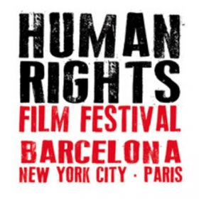 Logo of Human Rights Film Festival Barcelona