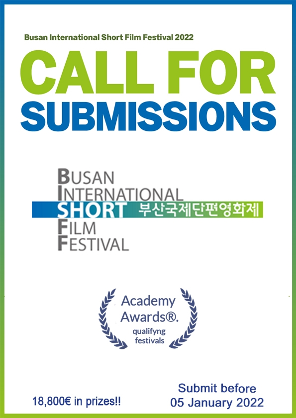 Promotional card of Busan International Short Film Festival
