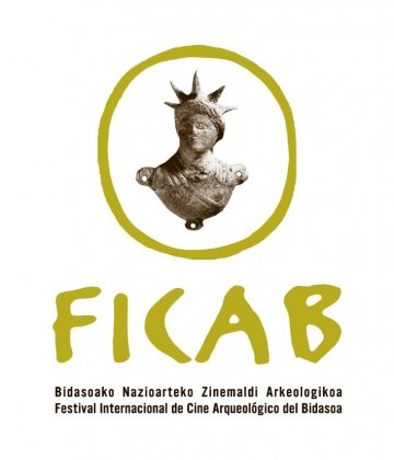 Logo of 20th International Archaeological Film Festival of the Bidasoa