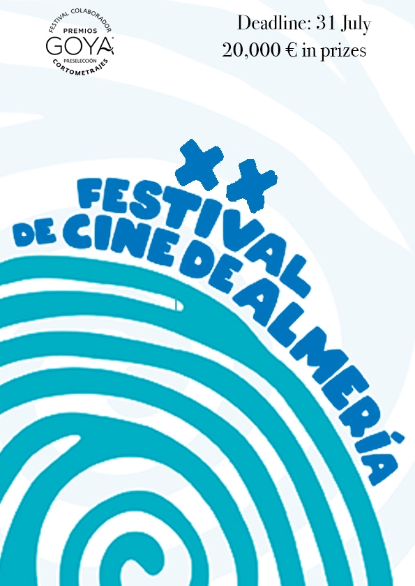 Promotional card of Almería International Film Festival