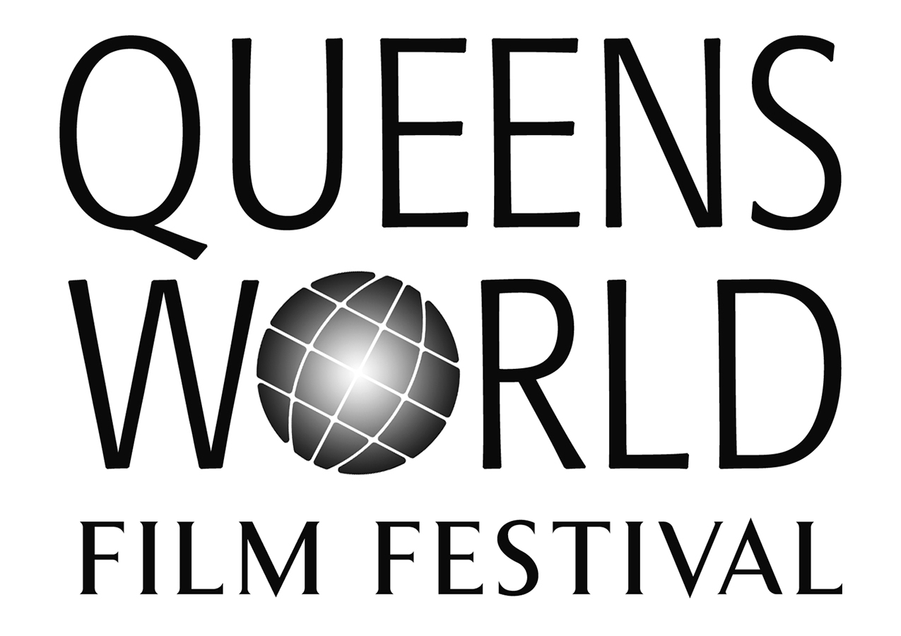 Promotional card of Queens World Film Festival