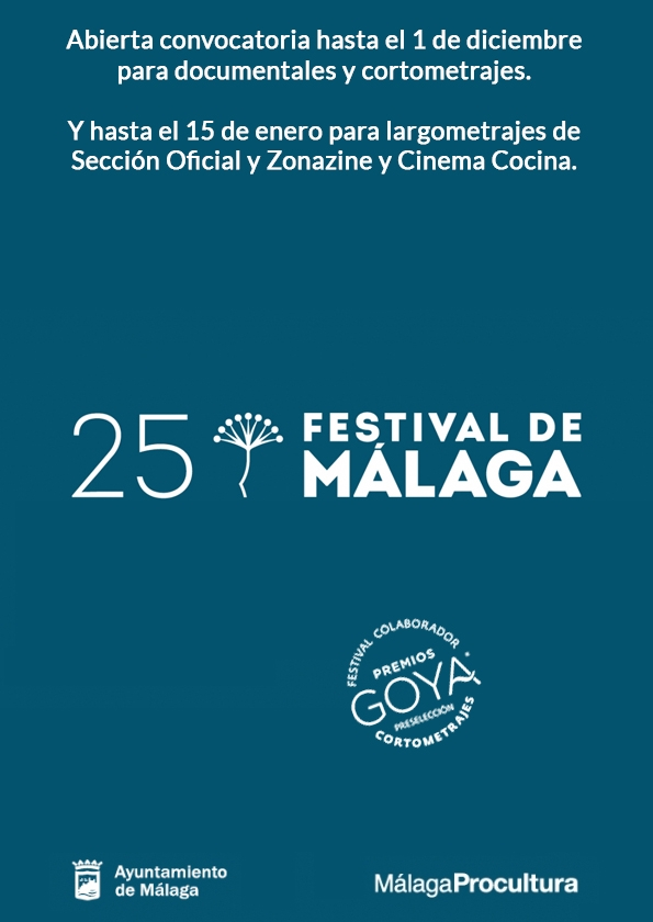 Promotional card of Festival De Málaga