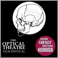 Logo of The Optical Theatre Horror Film Festival