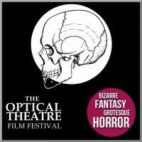 Logo of The Optical Theatre Horror Film Festival