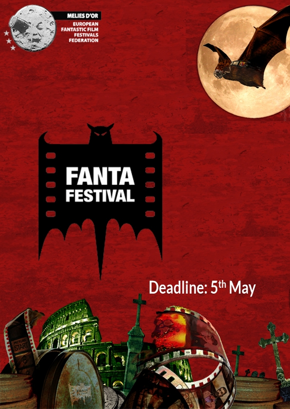 Promotional card of Fantafestival - International Science Fiction and Fantasy Film Show
