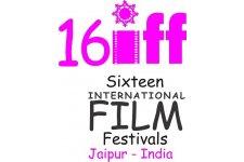 Logo of 16 International Film Festivals - in Jaipur India by JIFF