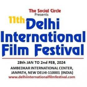 Logo of 9th Delhi International Film Festival 2021