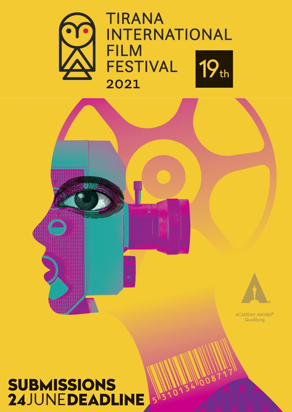 Promotional card of Tirana International Film Festival