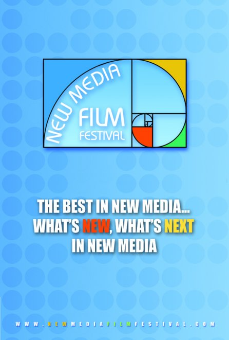 Promotional card of New Media Film Festival