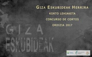 Logo of Concurso De Cortos Giza Eskubideak Herrira (Acercando Los Derechos Humanos Al Pueblo)
