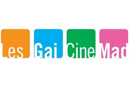 Logo of LesGaiCineMad Madrid International LGBTI+ Film Festival