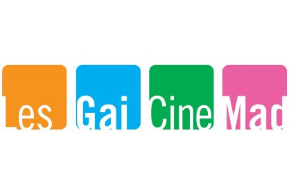 Logo of LesGaiCineMad Madrid International LGBT Film Festival
