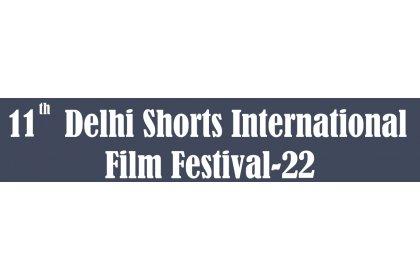 Logo of 10th Delhi Shorts International Film Festival-21