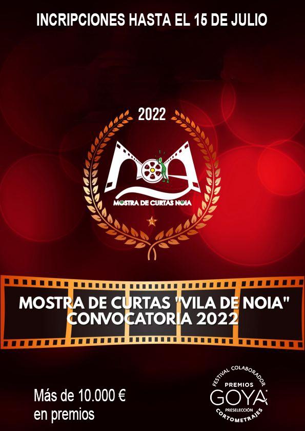 Promotional card of Short Film Showcase Vila de Noia