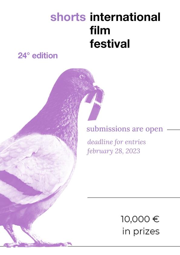 Promotional card of ShorTS - International Film Festival / Maremetraggio