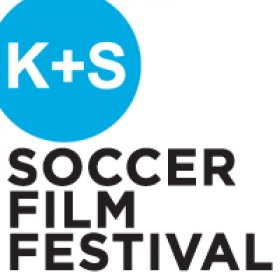 Logo of Kicking + Screening Soccer Film Festival