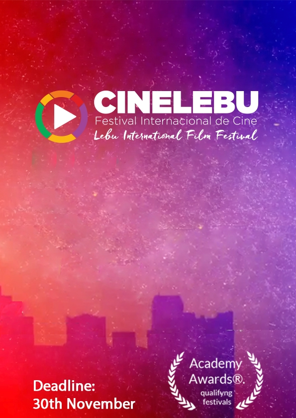 Promotional card of Lebu International Film Festival