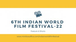Logo of 5th Indian World Film Festival-21