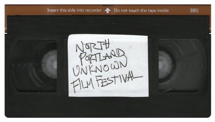 Logo of North Portland Unknown Film Festival