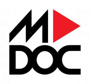Logo of MDOC - Melgaço International Documentary Film Festival