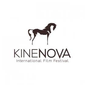 Logo of International film festival Kinenova Skopje