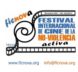 Logo of ANIFF Active Nonviolence International Film Festival