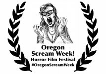 Logo of Oregon Scream Week Horror Film Festival