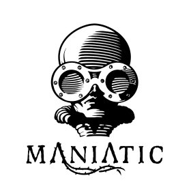 Logo of Maniatic, Festival Internacional de cine Fantástico de Manises.
