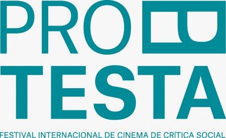 Logo of Festival Protesta (international film festival on social critique)