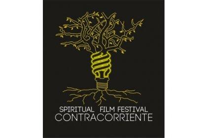 Logo of Spiritual Film Festival Contracorriente