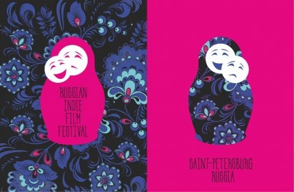 Logo of Russian Indie Film Festival RUIFF