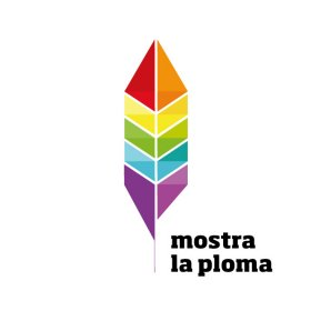 Logo of Mostra La Ploma. International Film and Culture Festival for Sexual, Gender and Family Diversity.