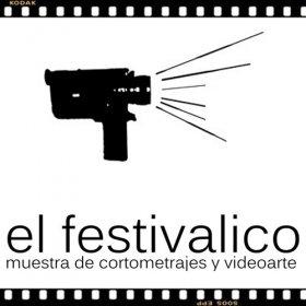 Logo of El Festivalico Short film and Videoart festival