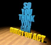Logo of So You Think You Can Direct/Act Competition