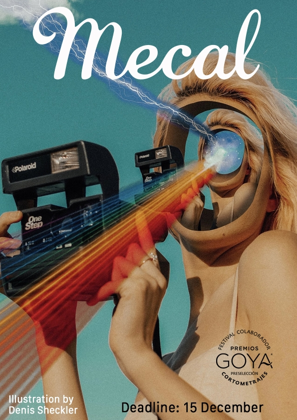 Promotional card of Mecal Pro,  22nd Barcelona International Short and Animation Film Festival
