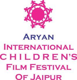Logo of Aryan International Children's Film Festival Of Jaipur - ICFF Jaipur