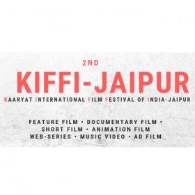 Logo of Kiffi-jaipur ( Kaaryat International Film Festival Of India, Jaipur)