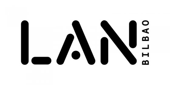 Logo of LAN.  Festival audiovisual obrero