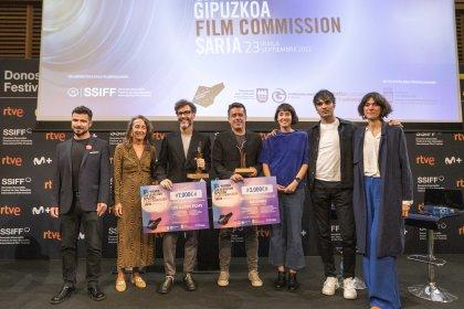 Photo of IX Premio San Sebastian – Gipuzkoa Film Commission