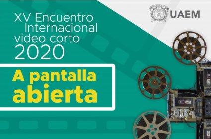 Logo of XV Encuentro De Videocorto A Pantalla Abierta 2019