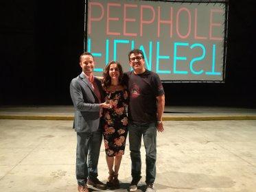 Photo of PEEPHOLE filmfest