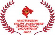 Logo of Montenegrian Online Smartphone International Film Festival (MOSIFF)