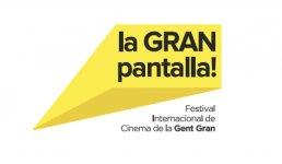 Logo of La Gran Pantalla - Festival Internacional De Cinema De La Gent Gran de Barcelona
