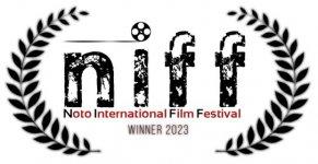 Logo of N.i.f.f. - Noto International Film Festival