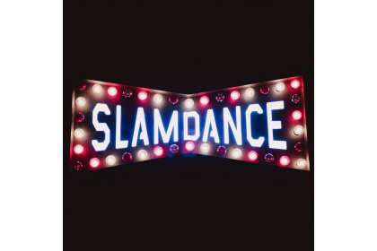 Logo of Slamdance 电影节