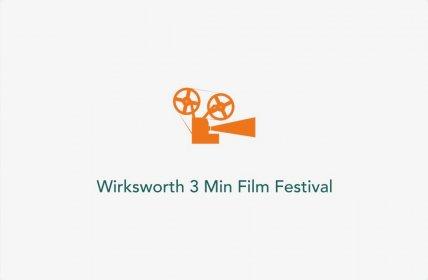 Logo of Wirksworth 3 Minute Film Festival