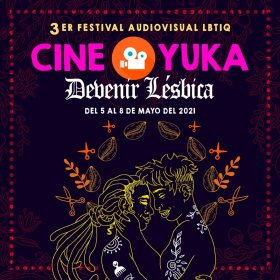 Logo of Festival Audiovisual Cine O Yuka Lbtiq