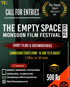 Photo of The Empty Space Monsoon Film Festival (India) 2019